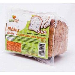Love Diet Glutén- és laktózmentes  mákos kenyér 350 g