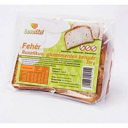 Love Diet Gluténmentes riusztikus fehér kenyér 235 g