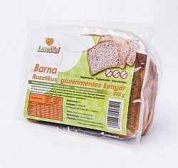 Love Diet Gluténmentes rusztikus barna kenyér 235 g