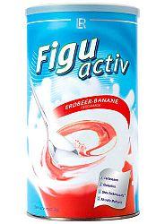 LR Figuactive Eper-banán ízű fogyókúrás shake, 450 g