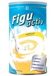 LR Figuactive Vanília ízű fogyókúrás shake, 450 g