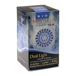 Mandala tea, Dual Light 20 filter