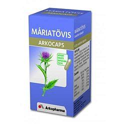 Máriatövis kapszula 45 db, Arkocaps - Májproblémák