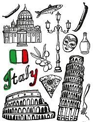 Maxi matricák - Olaszország