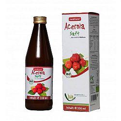 Medicura Acerola 100% bio gyümölcslé, 330 ml