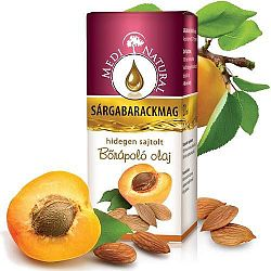Medinatural bőrápoló olaj sárgabarackmag, 20 ml