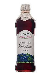 Méhes-Mézes Kék áfonya szörp gyümölcscukorral, 500 ml