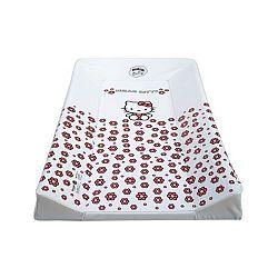 Merev pelenkázólap - Hello Kitty - fehér
