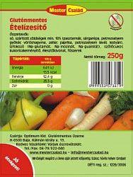 Mester család gluténmentes ételízesítő, 250 g