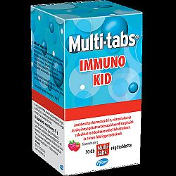 Multi-tabs immuno kid tabletta, 30 db