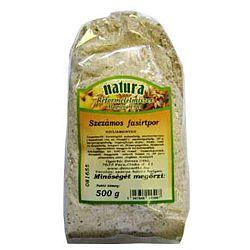 Natura fasírtpor, 500 g - szezámos