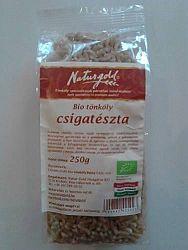 Naturgold bio tönköly csiga - fehér, 250 g