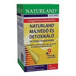 Naturland Májvédő tea filteres, 25x1,5g