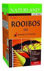 Naturland Rooibos tea filteres, 20x1,5g