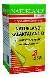 Naturland Salaktalanító tea filteres, 25x1g