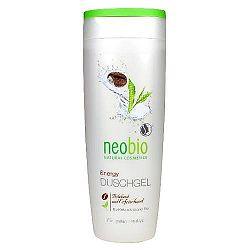 Neobio Tusfürdő Energy bio Koffeinnel és bio Zöld teával, 250 ml