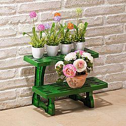 Növénytartó, 2 lépcsős - velikost 41,7x31,5x31,5cm