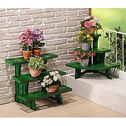Növénytartó, 3 lépcsős - velikost 58x45x49cm