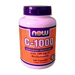 Now C-vitamin 1000 kapszula+Bioflavonoid, 100 db