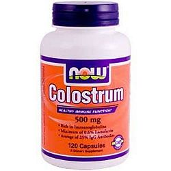 Now Colostrum 500 mg kapszula, 120 db