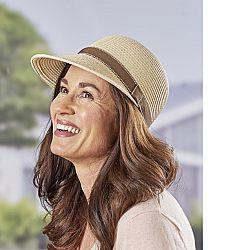 Nyári kalap - bézs színben