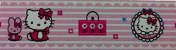Öntapadó bordűr - Hello Kitty