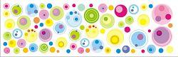 Öntapadó faldekoráció - buborékok