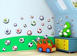 Öntapadó falmatricák - focilabdák