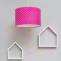 Polc - házikó - rózsaszín