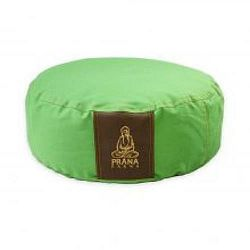PRANA Zöld standard huzat 36x12 cm kerek jóga ülőpárnához