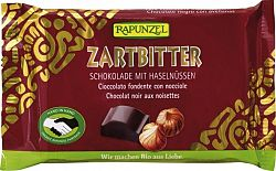 Rapunzel Cristallino bio félédes csokoládé egész mogyoróval, 100 g
