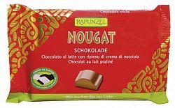 Rapunzel Cristallino bio nugátos csokoládé, 100 g