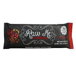 Raw Me nyers vegán gyümölcsszelet vörös áfonyás, 45 g