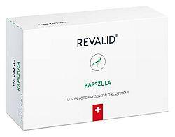 Revalid haj- és körömregeneráló készítmény, 30 db kapszula