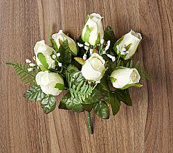 Rózsacsokor - fehér színben