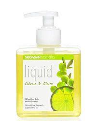 Sodasan bio folyékony szappan pumpás, citrom-olíva 300 ml