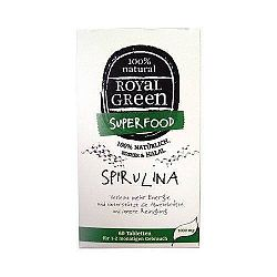 Spirulina tabletta 60 db, Royal Green