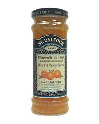 St. Dalfour lekvár, narancsos 284 g