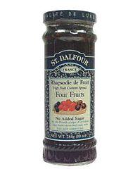 St. Dalfour lekvár, vegyes dzsem 4 féle gyümölcsből 284 g