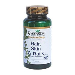 Swanson Complex haj, bőr, köröm multivitamin, 60 db tabletta