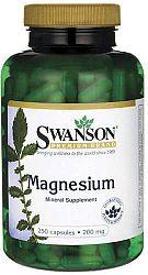 Swanson Magnézium Kapszula 200mg, 250 db