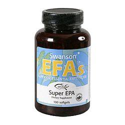 Swanson Super EPA Omega-3 halolaj, 100 db lágyzselatin kapszula
