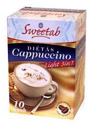 Sweetab diétás cappucino 10 db