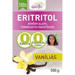 Szafi Reform Vaníliás ízű eritrit (eritritol), 500 g