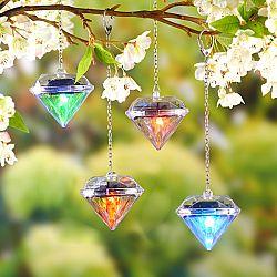 Szolár lámpa Gyémánt, 4 db-os szett