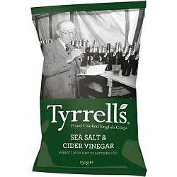 TYRRELLS ALMABOR ECETES BURGONYA CHIPS 40g, 40 g