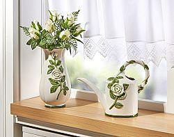 Váza Fehér rózsák