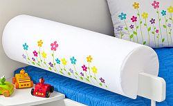 Védőszivacs kiságyra - kis virágocskák