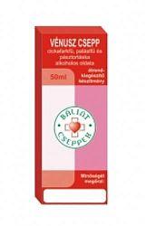 Vénusz csepp - cickafarkfű, palástfű és pásztortáska alkoholos kivonata 50 ml