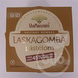 Via Naturalis laskagomba pástétom shiitake gombás, 100 g